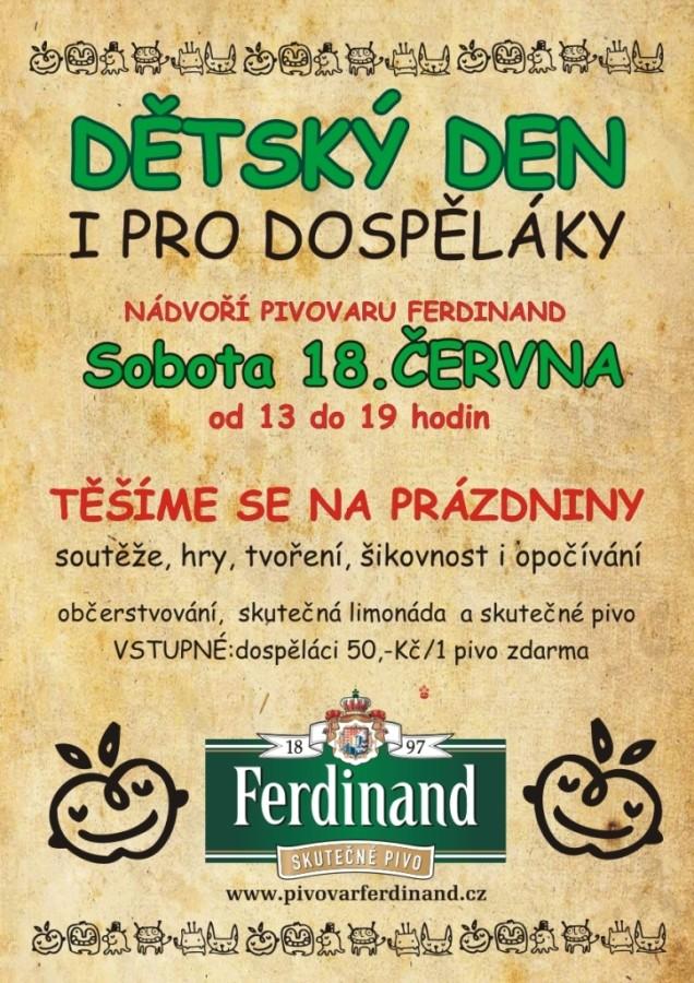 Pivovar Ferdinand Dětský den